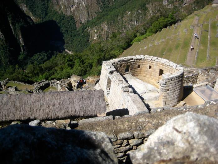 Solstice Semicircle at Machu Picchu
