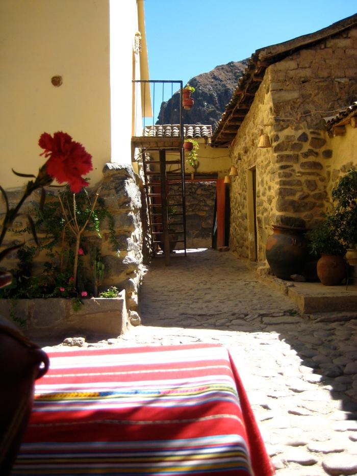 Peruvian courtyard