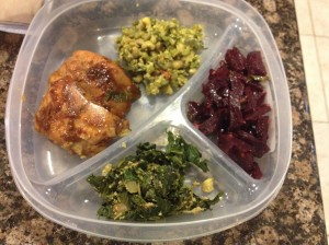 jeera beans beets chicken